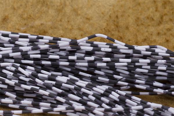 Rubber Legs Fly Tying Materials Veniard Barred Centipede Legs 2 Sizes