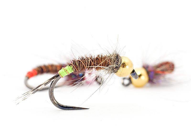 Pheasant Tail Nymphe Gr.14 und Gr.12 Qualität Fliegenfischen