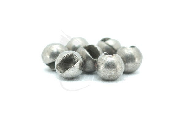 Tungsten Beads for heavy nymphs Fliegenbindematerialien White 10 Stück
